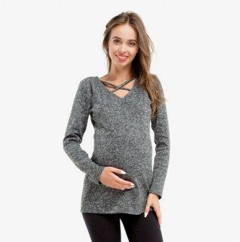 Лонгслив для беременных и кормящих мам Creative Mama WOOL, ангора