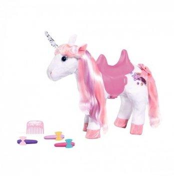 Интерактивная игрушка Zapf Baby Born Сказочный единорог 828854