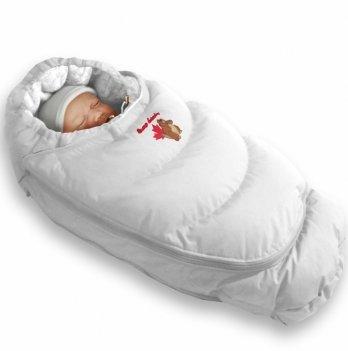 Пуховый конверт-трансформер зима Alaska Size control Ontario Baby Зима белый ART-0000068