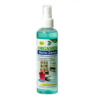 Спрей с пробиотиками для устранения неприятного запаха в быту Анти-Запах Organics 200 мл