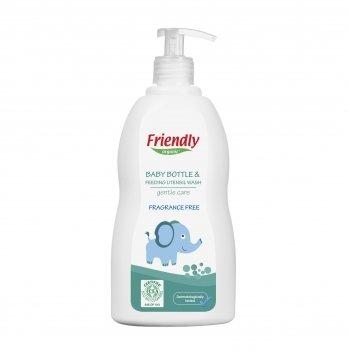 Моющее средство для бутылочек и сосок, посуды Friendly Organic,  Baby Bottle & Feeding Ut. Wash, 500 мл
