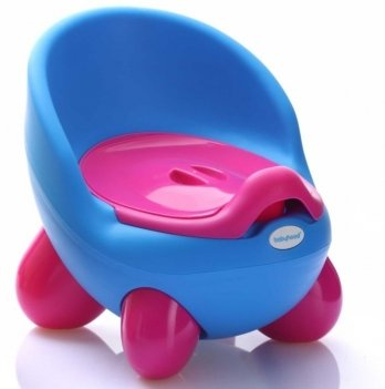 Горшок Babyhood, Кью-кью, на ножках, голубой
