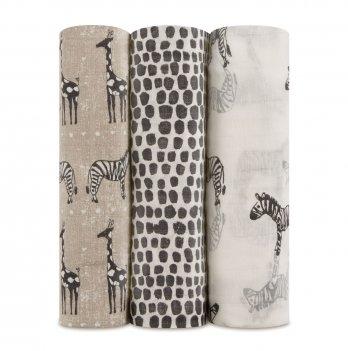 Пеленки муслиновые Aden&Anais Sahara motif 3 шт