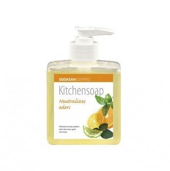 Органическое кухонное мыло Sodasan, 8036, 300 мл