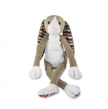 Музыкальная мягкая игрушка Zazu, кролик БО с ночником