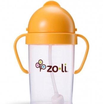 Поильник ZoLi BOT XL Orange 270 мл