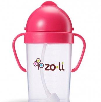 Поильник ZoLi BOT XL Pink 270 мл