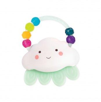Развивающая игрушка-прорезыватель Battat, Радужный дождик (свет)