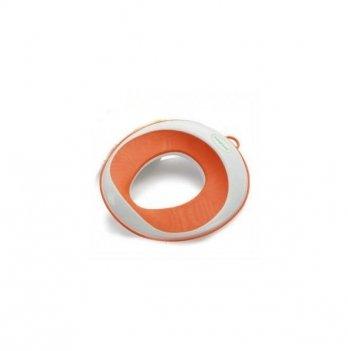 Накладка на унитаз для малышей Babyhood, оранжевая
