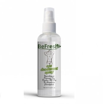Дезодорант-спрей без запаха для тела, мужской Organic Deodorant Spray BeFresh 100 мл