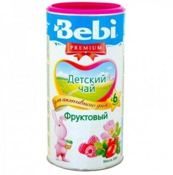 Чай детский Kolinska Bebi PREMIUM фруктовый 200 г