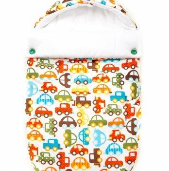 Летний конверт для младенцев GoforKid, хлопок, Берегись автомобиля