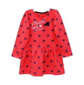 Платье Minikin красное в горох