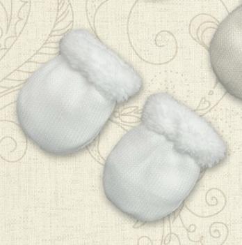 Перчатки Сніжок-3 махра Бетис Белый