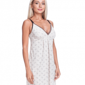 Ночная сорочка для беременных и кормящих мам DISSANNA 1298