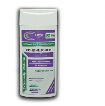 Кондиционер для всех типов волос Cryo Cosmetics, легкое расчесывание и питание