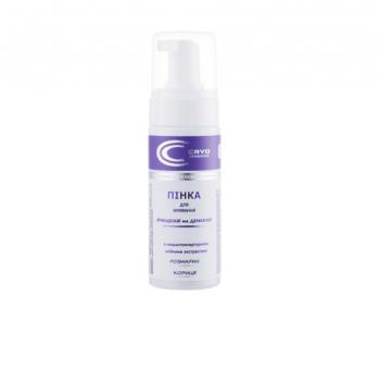 Пенка для умывания с низкотемпературными масляными экстрактами розмарина и корицы, Cryo Cosmetics