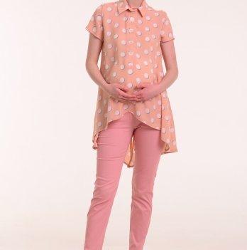 Рубашка для беременных и кормящих мам MIA, White Rabbit