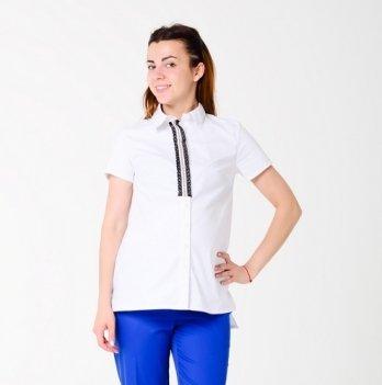 Рубашка для беременных и кормящих мам White Rabbit Моник, короткий рукав