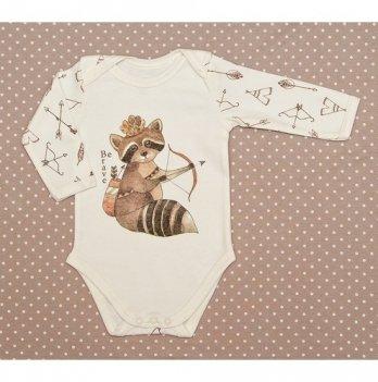 Боди для малышей SWEET BABY Be brave, с прином