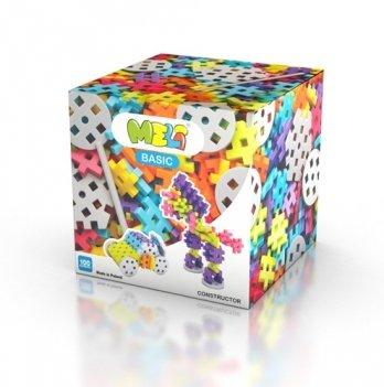Развивающий 3D конструктор Meli Basic фигурные 100 элементов