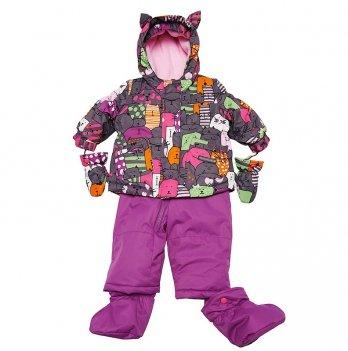 Зимний костюм (куртка и полукомбинезон) Deux par Deux C 502B-001