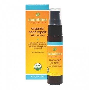 Масло для ускорения заживления шрамов, 30мл, Mambino Organics