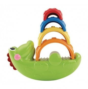 Пирамидка Fisher- Price Веселый крокодил