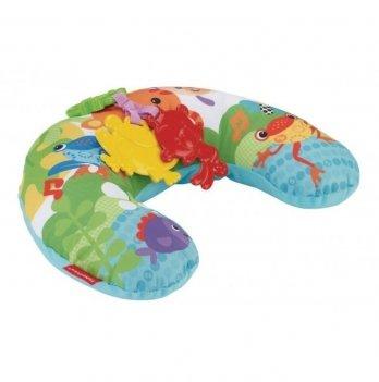 Музыкальная массажная подушка для игры на животике Fisher- Price Тропические друзья