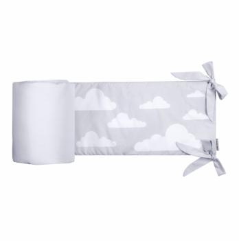 Защита для кроватки Cotton Living Silver Clouds
