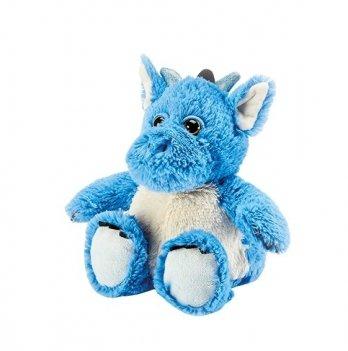 Игрушка-грелка Intelex Динозаврик синий