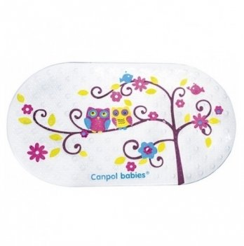 Антискользящий коврик для ванной  Canpol babies Совы