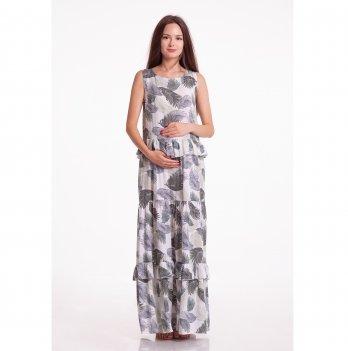 Платье для беременных White Rabbit Chili Листья