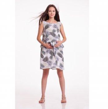 Платье для беременных White Rabbit Chili Мини Листья