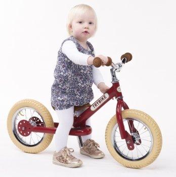 Балансирующий велосипед Trybike рубиновый