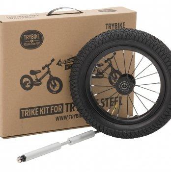 Дополнительные колеса для велосипеда Trybike черные
