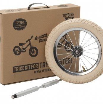 Дополнительные колеса для велосипеда Trybike бежевые