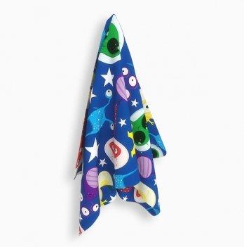 Универсальное детское полотенце Emmer Cosmo Zoo Blue