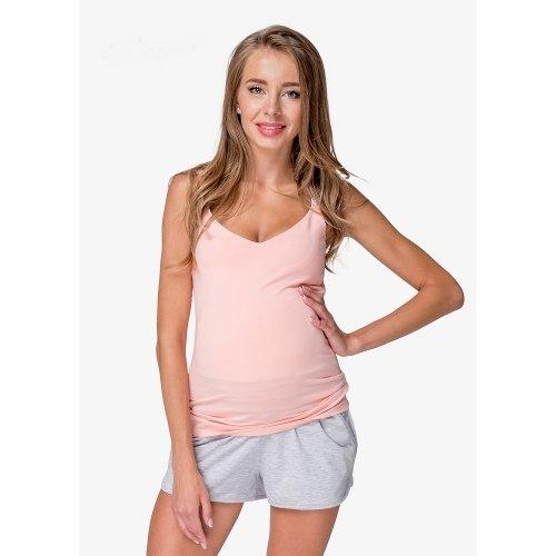cd20629894ce Топ для беременных и кормящих мам Creative Mama, Persik купить ...