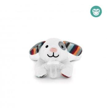 Собачка игрушка-держатель для пустышки Dexy Zazu ZA-DEXY-01