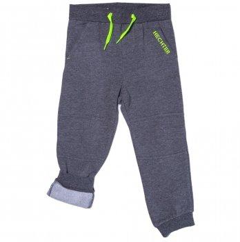 Штаны спортивные на флисе для мальчика Daniel Hechter темно-серые