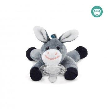 Ослик игрушка-держатель для пустышки Donny Zazu ZA-DONNY-01