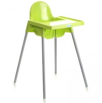 Стульчик для кормления Babyhood, зеленый
