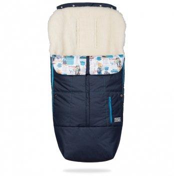 Конверт-чехол на ножки ДоРечі Trend Синий с голубым декором