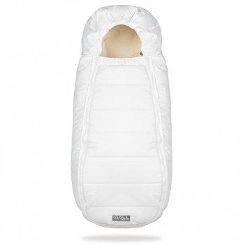 Конверт-кокон на овчине ДоРечі Baby XS Белый без опушки