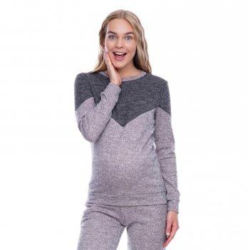 Свитшот для беременных и кормящих Creative Mama Pink Chocolate