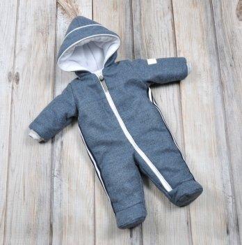 Комбинезон для новорожденных Magbaby кашемировый синий
