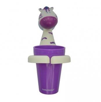 Стаканчик для зубных щеток Babyhood, Животные, Зебра