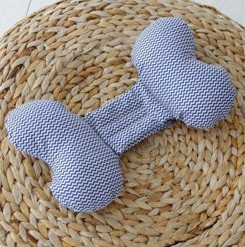 Ортопедическая подушка для новорожденных Magbaby, Butterfly, Синий зигзаг