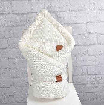 Конверт-одеяло вязанное Magbaby Familia, молочный